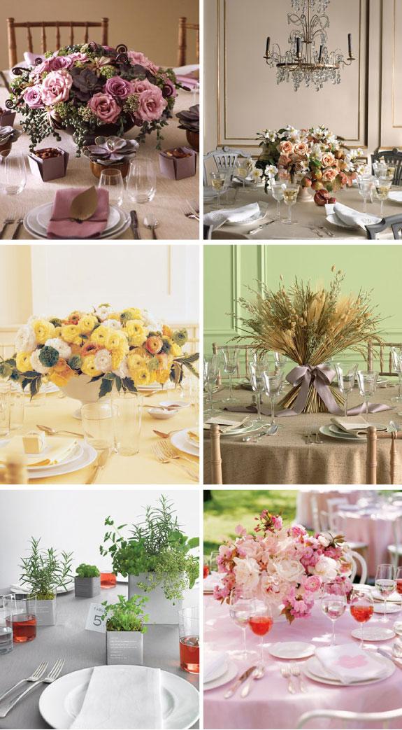 Aranżacje kwiatowe na okragłe stoły ślubne, dekoracja okrągłych stołów ślubnych, inpiracje do dekoracji okrągłych stołów na ślub, okrągłe stoły na ślub