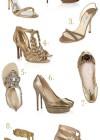 Złote buty do ślubu? Tak proszę!