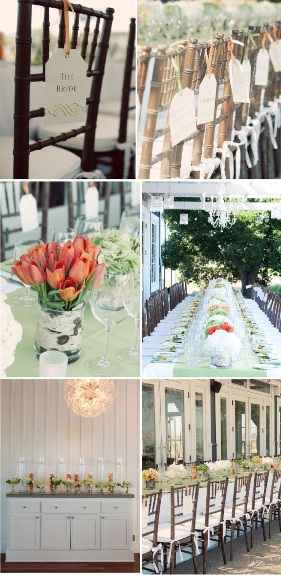 Pretty Wedding Ślub pełen tulipanów w kolorze pomarańczowym