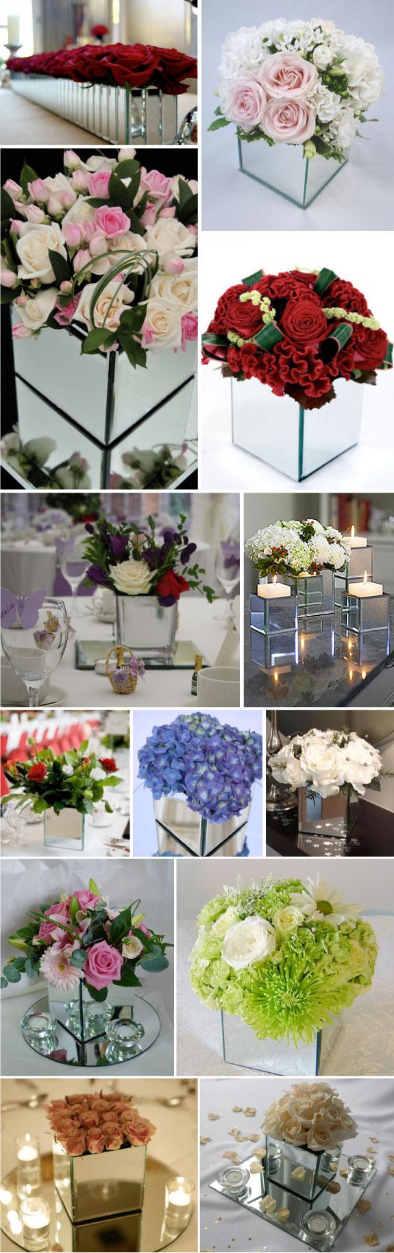 Kwiaty na stołach ślubnych, jak udekorować kwiatami stół