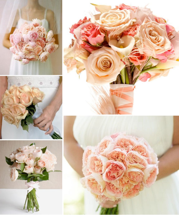 Pretty Wedding Bukiet Do Slubu Roze cz 1