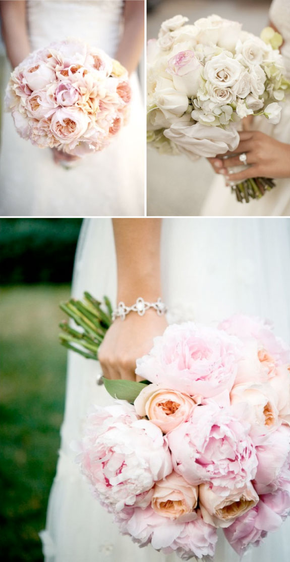 Pretty Wedding Bukiet do Slubu roze