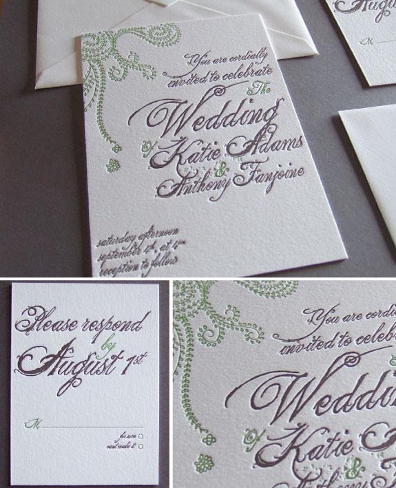 Pretty Wedding nowoczesna kaligrafia