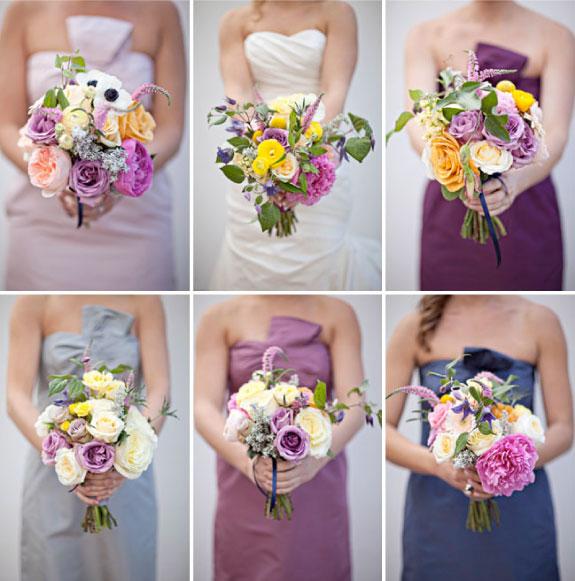 kwiaty, bukiety ślubne, wiosenne bukiety