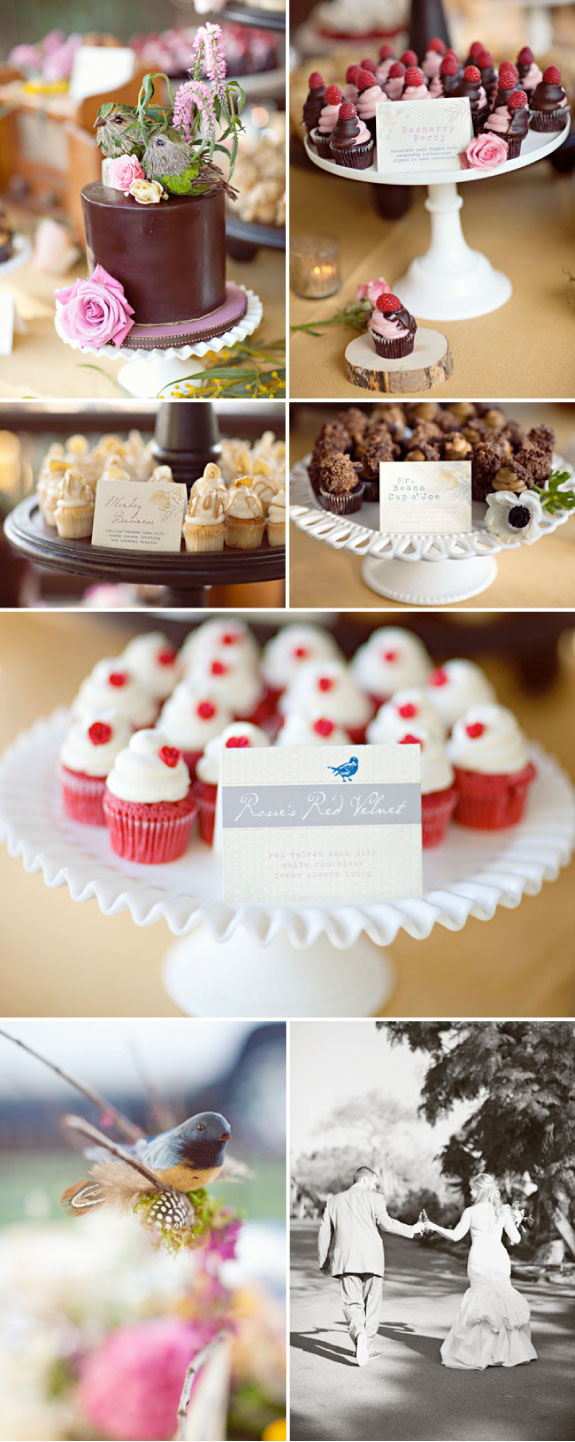 Ciasteczka dla gości weselnych, mufinki na ślubie