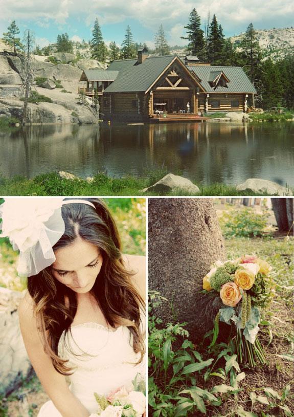 Ślub nad jeziorem, ozdoby do włosów na ślub, kwiaty
