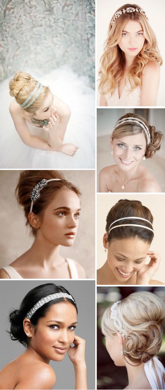 Fryzury Do Ślubu, Opaski we włosach
