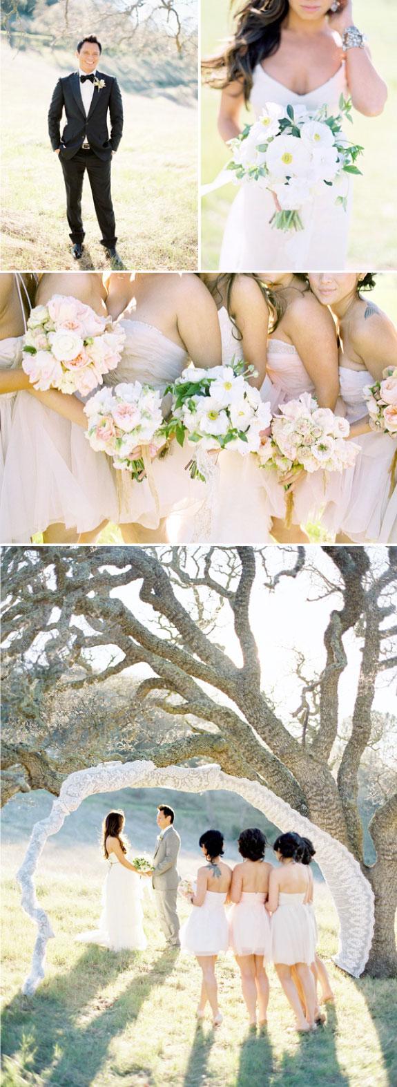 Elegancki i romantyczny ślub