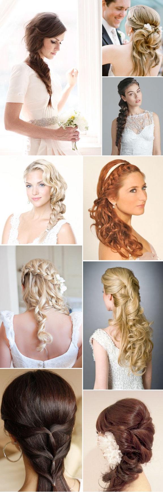 Plecione włosy na wesele