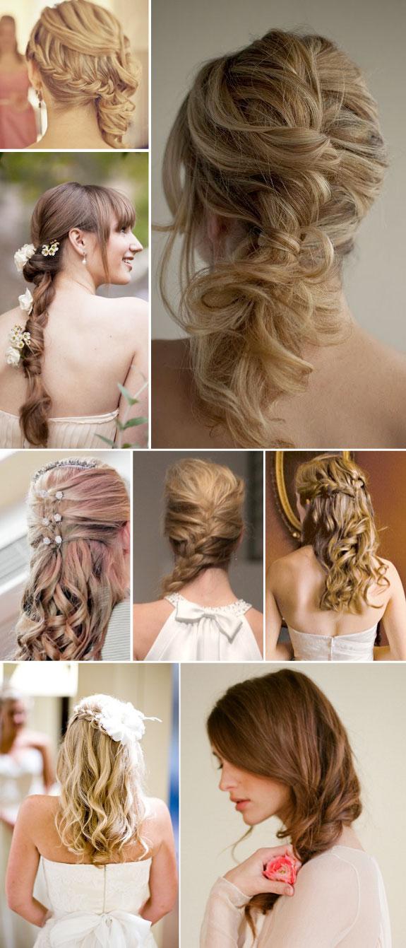 Upięcia włosów na ślub, fryzury ślubne