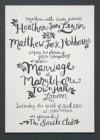 Nowoczesna Kaligrafia w Zaproszeniach Ślubnych