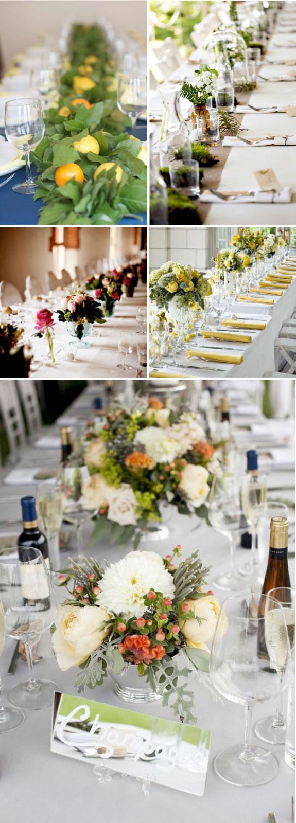 Pomysły i inspiracje na udekorowanie stołów weselnych