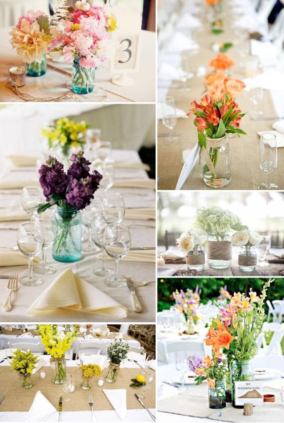 Dekoracje na ślub w stylu rustykalnym