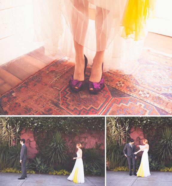 Odważny ślub w starym stylu