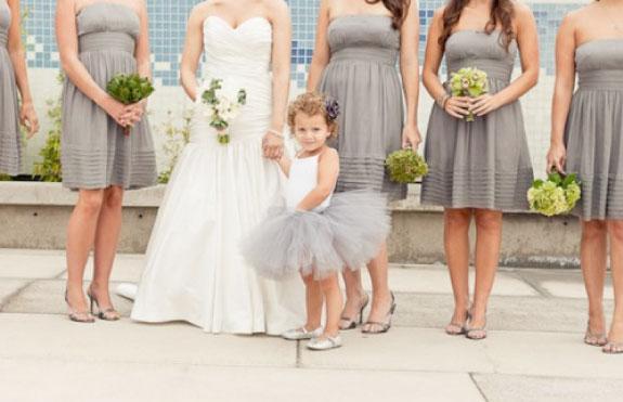 Orszak ślubny i druchny na ślubie
