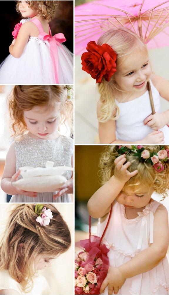 Dziewczynki na ślubie