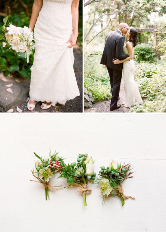 Czarujący Ślub W Ogrodzie