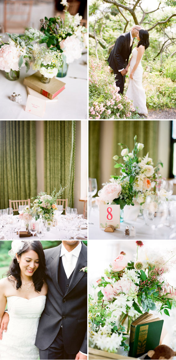 Nowoczesne dekoracje stołów ślubnych