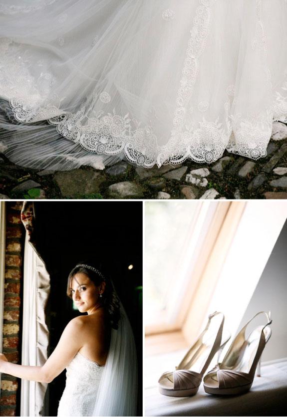 Pięknie zgrane detale na weselu