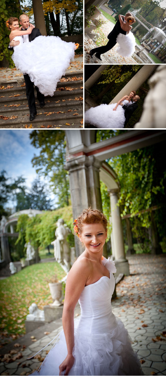Zdjęcia ze ślubu w październiku