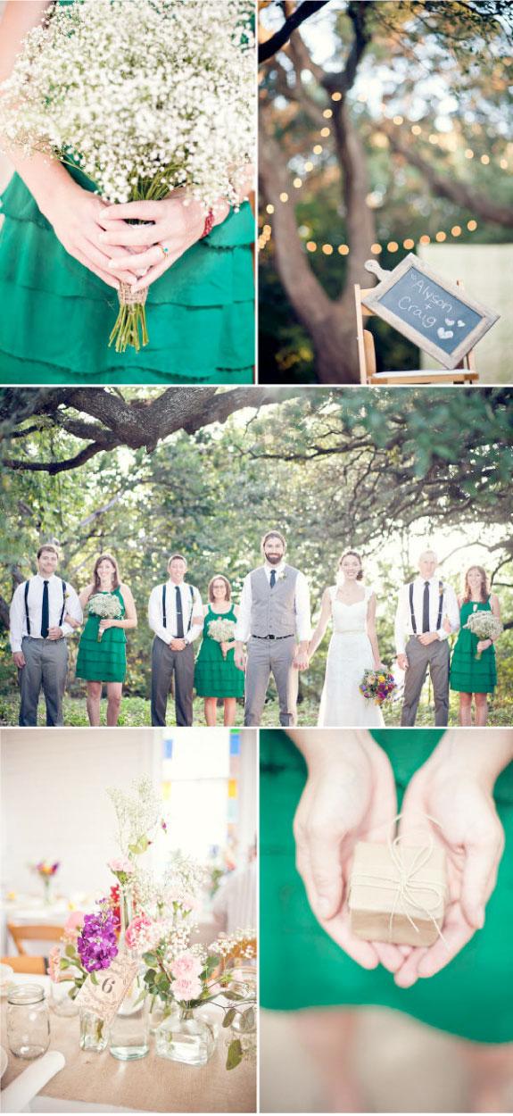 Ślub z ręcznie robionymi dodatkami