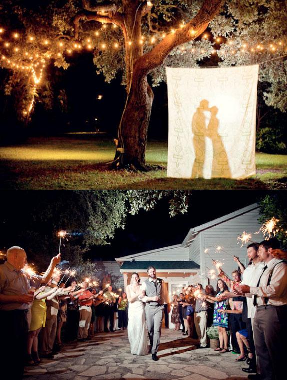 Ślub z ręcznie wykonanymi dekoracjami