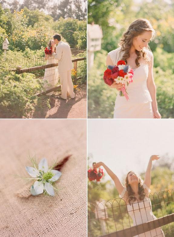 Pretty Wedding Piękna Panna Młoda z Bukietem ślubnym