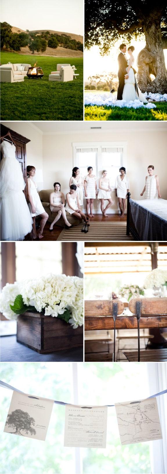 Ślub w neutralnych kolorach czerni, bieli i szarości