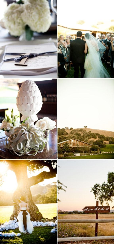 Piękny ślub w stylu współczesnym
