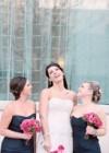Ślub w Odcieniach Różu i Granatu