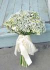 Bukiet Ślubny z Gipsówki