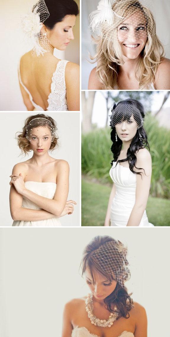 Woalki do krótkich i długich włosów