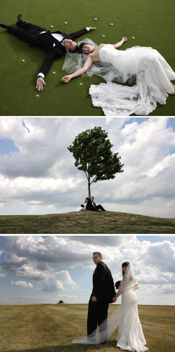 Piękne Zdjęcia Plenerowe na Polu Golfowym w Podkrakowskich Paczółtowicach