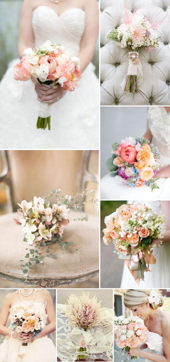 Polne kwiaty w bukietach ślubnych