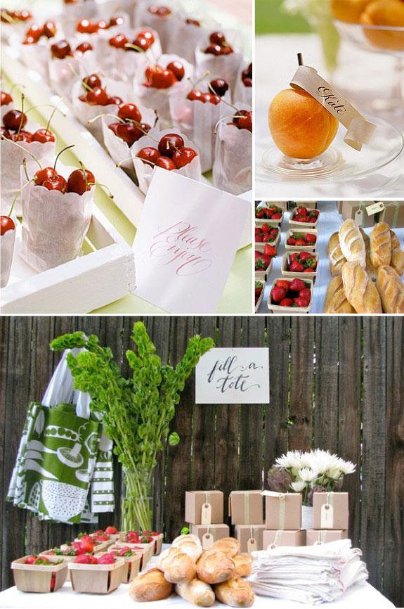 Przenty dla gości weselnych w ładnych opakowaniach