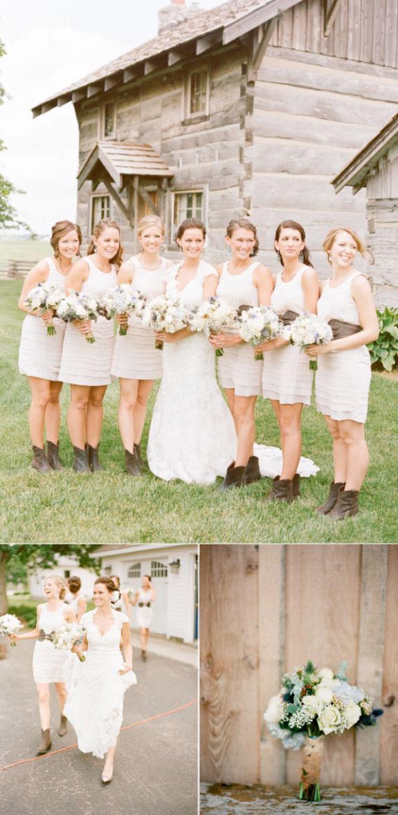 Ślub w stylu wiejskim