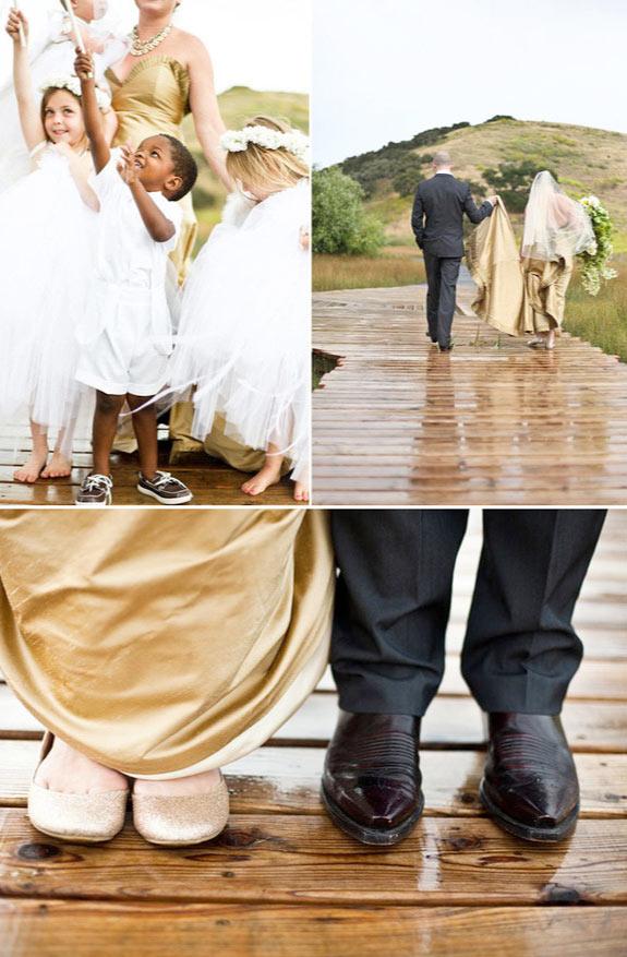 Ręcznie robione dodatki na ślubie w styluangielskim