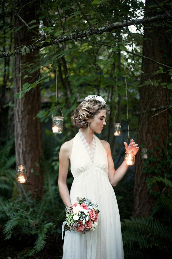 Dekoracje ze słoiczków na weselu