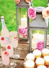 Brzoskwiniowy Ślub w Ogrodzie