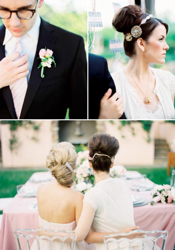 Fryzura do Ślubu i Opaska z Biżuterii