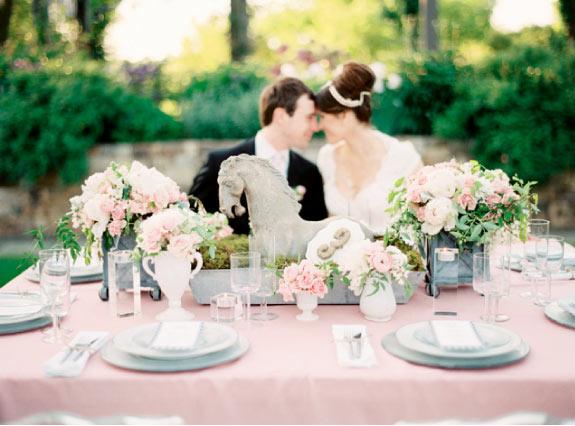 Ślub w Odcieniach Różu i Szarości