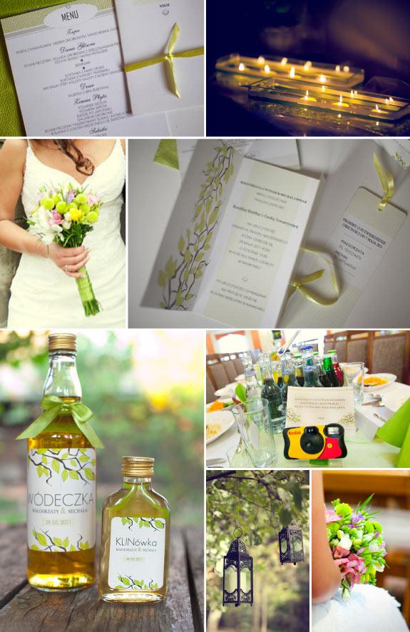 Zieleń Kolorem Przewodnim na Ślub Wiosną