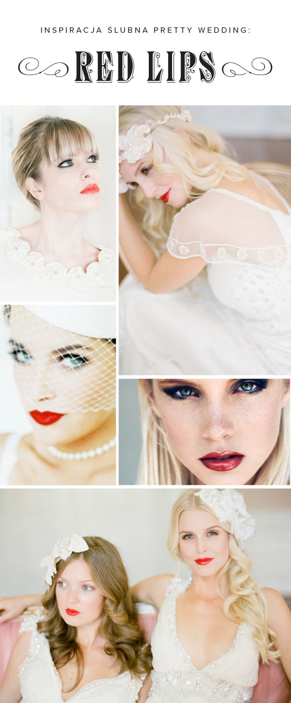 Inspiracje Na Ślub, Czerwone Usta