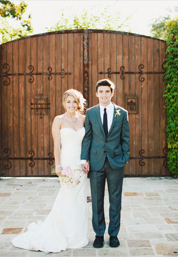Ślub w Kolorach Pudrowego Różu, Para Młoda