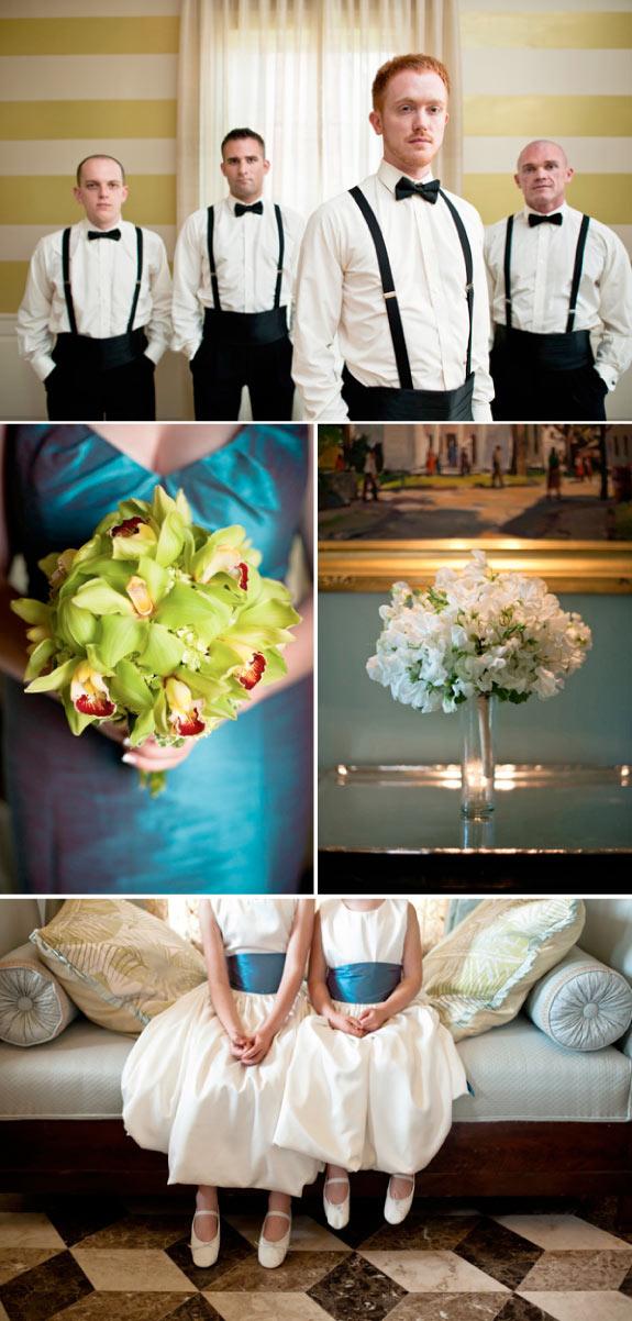 Drużba i Drużki w Eleganckim Stylu na Ślubie