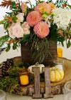 Jesienny Ślub w Stylu Rustykalnym