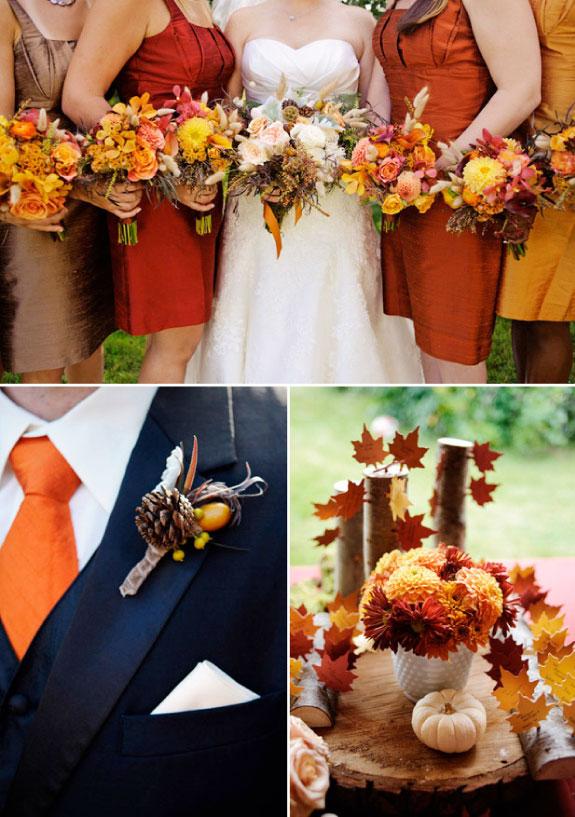 Pomysły na ślub jesienią w stylu rustykalnym