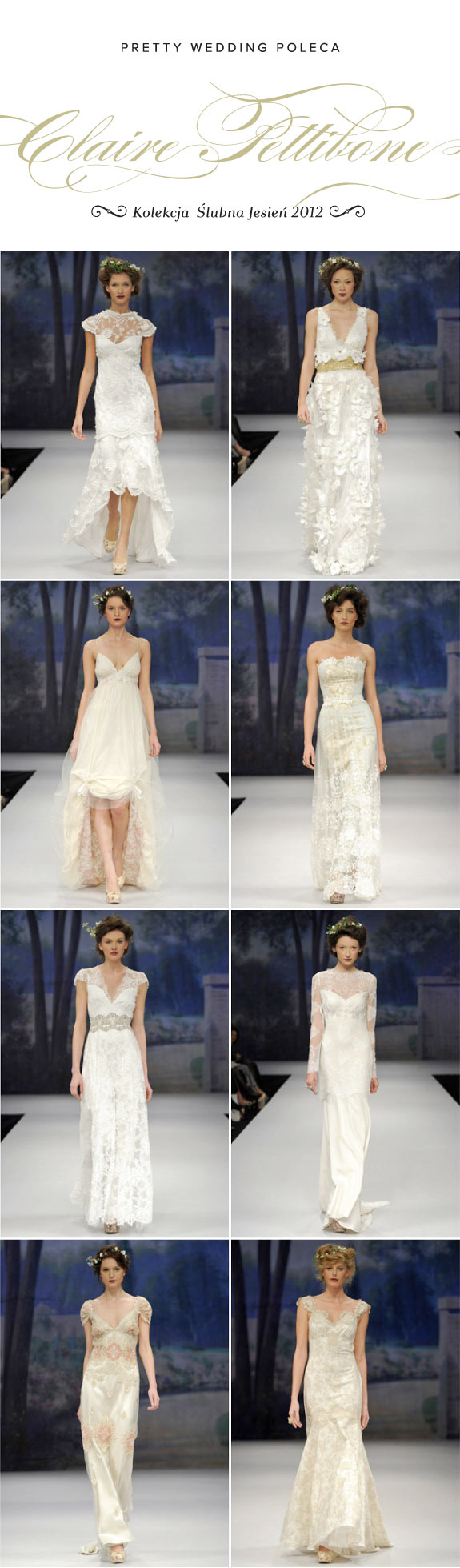 Kolekcja Ślubna na Jesień 2012, Suknia Ślubna od Claire Pettibone