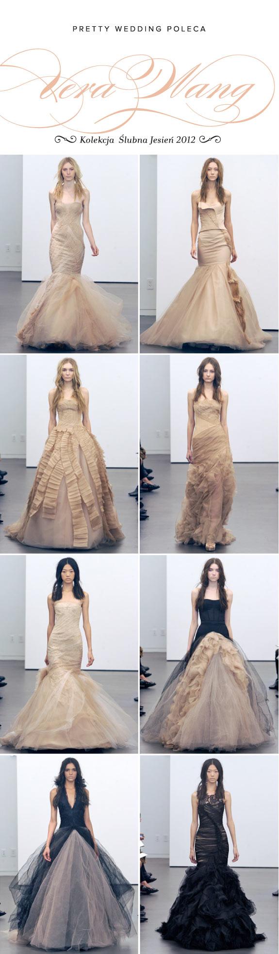 Kolekcja Ślubna na Jesień, Suknie Ślubne Wera Wang