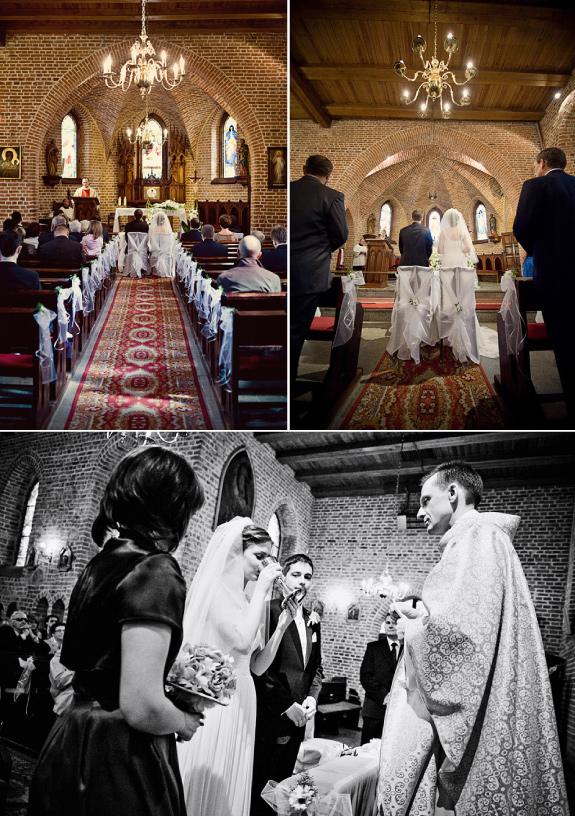 Piękne Zdjęcia Ślubne Z Kościoła